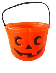 Secchio zucca Halloween
