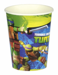 Confezione 8 bicchieri Tartarughe Ninja™