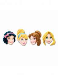 Lotto da 4 maschere di cartone Disney princess™
