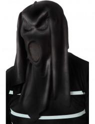 Maschera fantasma nera adulto