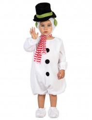 Costume pupazzo di neve bebè