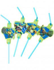 8 Cannucce verdi Tartarughe Ninja™