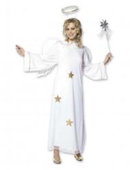 Costume angelo donna stellato