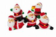 5 decorazioni torta Babbo Natale