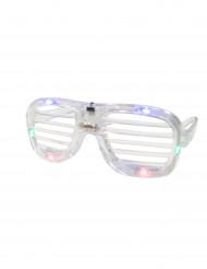 Occhiali trasparenti LED