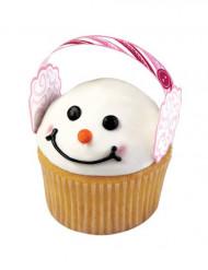 12 decorazioni copriorecchie per cupcakes