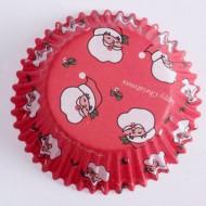 60 stampi per cupcake Babbo Natale