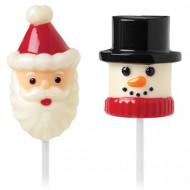 Formine per marshmallow Babbo Natale/Omino di neve