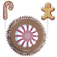 Set pirottini per dolcetti e stuzzichini decorativi