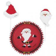Set stampi per cupcakes e stecchini decorativi