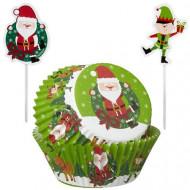 Set pirottini e pics natalizi