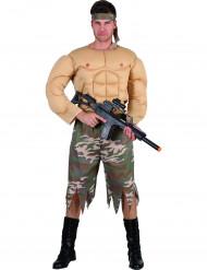 Costume combattente militare uomo