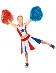 Costume ragazza pompon bambina USA