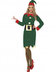Costume elfo donna natale