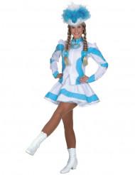 Costume cheerleader donna turchese