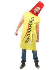 Costume barattolo maionese adulto