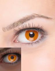 Lenti a contatto arancione Fluo