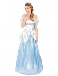 Costume principessa celeste donna