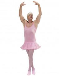 Costume ballerina rosa adulto