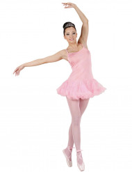 Costume ballerina rosa donna
