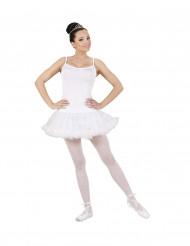 Costume da ballerina bianco donna