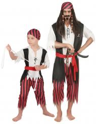 Costume pirata coppia: padre e figlio
