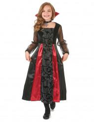 Costume Vampiro con ricami per bambina