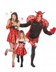 Costume da famiglia di coccinelle