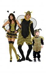 Costume da famiglia di api