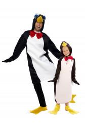 Costume coppia Pinguino padre e figlio