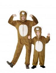 Costume coppia orso padre e figlio