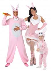 Costume famiglia coniglio