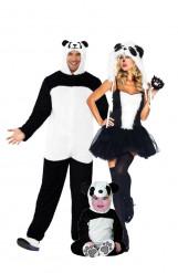 Costume famiglia di panda