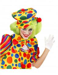 Cappello da clown a pois