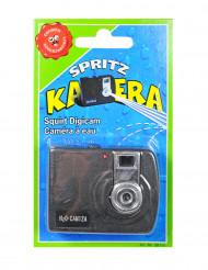 Finta macchinetta fotografica con spruzzo d