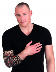 Manica tatuaggio scheletro