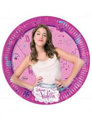 8 piatti cartone Violetta™