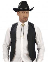 Cravatta corda cowboy adulto