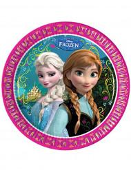 8 Piattini carta Frozen- Il regno di ghiaccio™