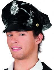 Cappello Poliziotto nero Adulto