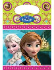 6 Sacchetti porta-caramelle Frozen - Il Regno di Ghiaccio™
