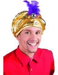 Cappello da sultano per adulto