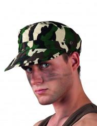 Cappello con visiera militare adulto