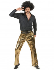 Pantaloni dorati uomo