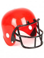 Caschetto giocatore di football americano rosso bambino