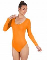 Body Arancione Fluo Adulto