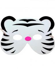 Maschera tigre bianca bambino