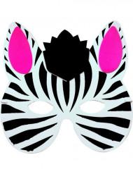 maschera zebra bambino