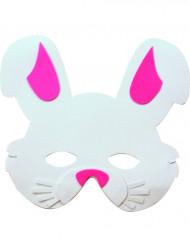 maschera coniglio bambino