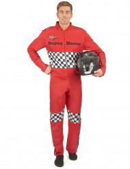 Costume da pilota da corsa per adulto